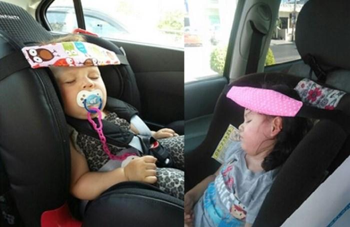 Фиксатор для головы ребенка в автокресле своими руками